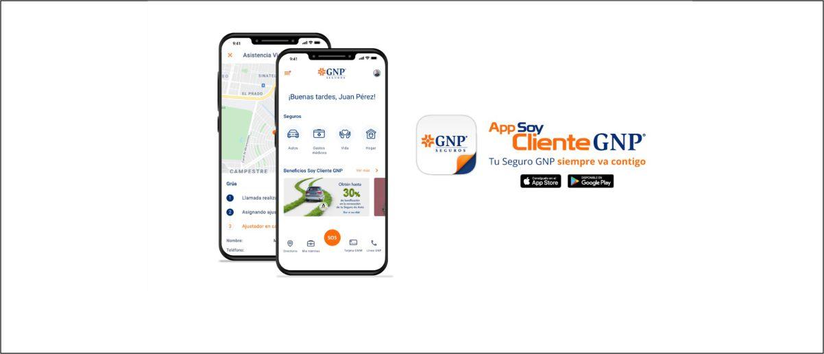 Enlace permanente a:App Soy Cliente GNP